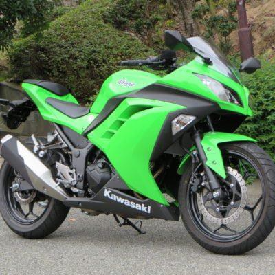 2012+ ninja300 green