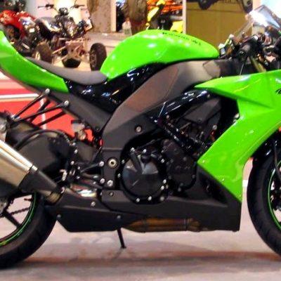 2008-2010 zx10r green black gloss