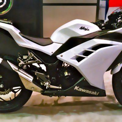 2012+ ninja 300 white