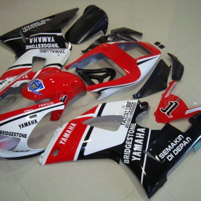 1998-1999 r1 black red stickers