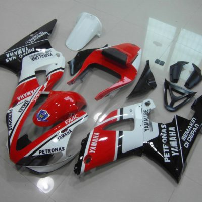 2000-2001 r1 red black gloss stickers