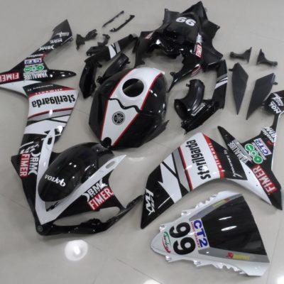 2007-2008 r1 black white stickers packs