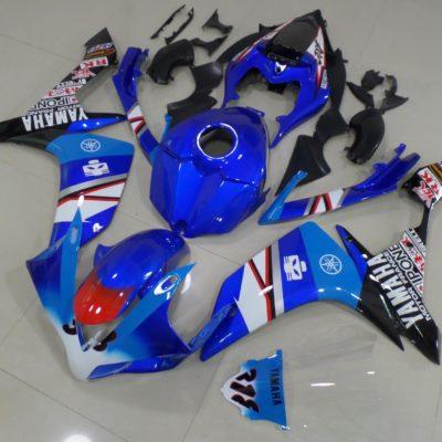 2007-2008 r1 blue white black stickers