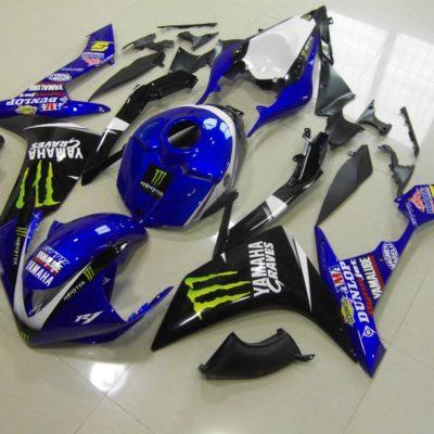2007-2008 r1 blue monster