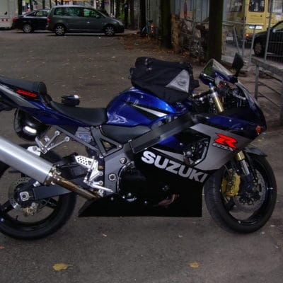 2004-2005 GSXR600 750 K5 blue silver red