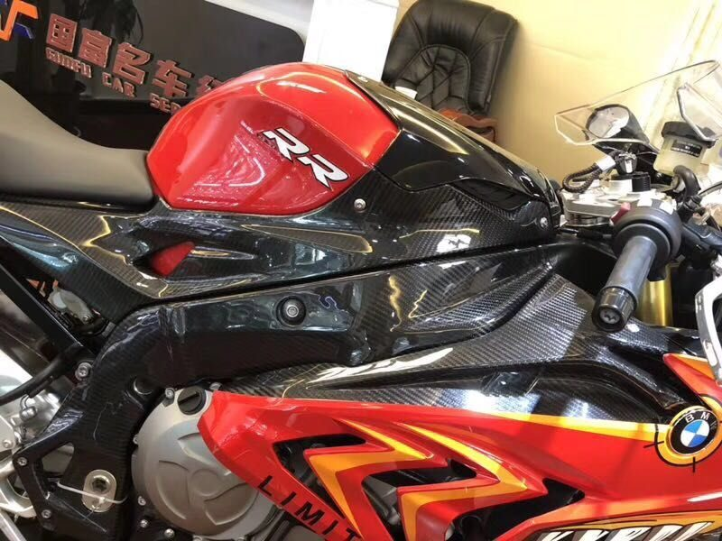 2015-2016 s1000rr red sharks with carbon painted parts