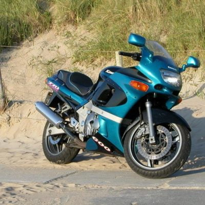 ZZR600 blue black white