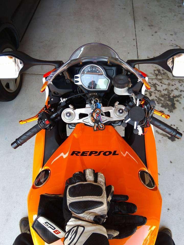 CBR1000RR conversion kit (2008 model to 2012 model)