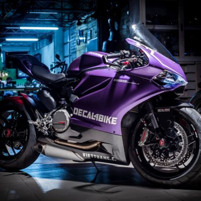 Ducati 899 1199 1299 panigale matt purple