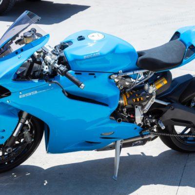 Ducati 899 1199 1299 panigale gloss blue