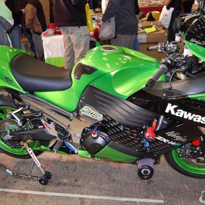 2007+ zx14r green black