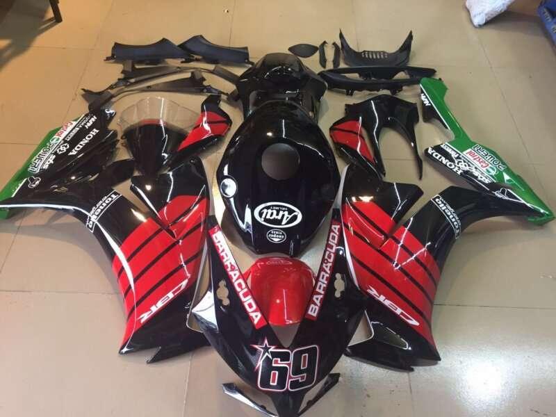 2012-2016 CBR1000 black red graphic