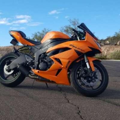 zx6r orange