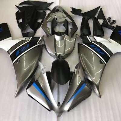 2009-2014 R1 silver blue