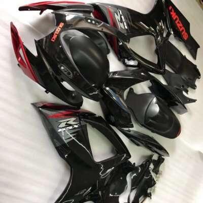 2011-2016 gsxr600 750 black red