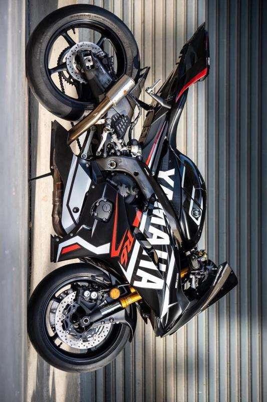 2017+ r6 black racing decals